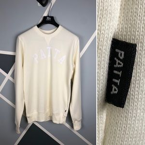 Patta Men's Basic Athlete Crewneck Sweatshirt Sz L